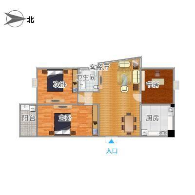 107方三室两厅