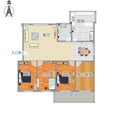 赵庄公寓170方A3四室一卫两厅(12.7)