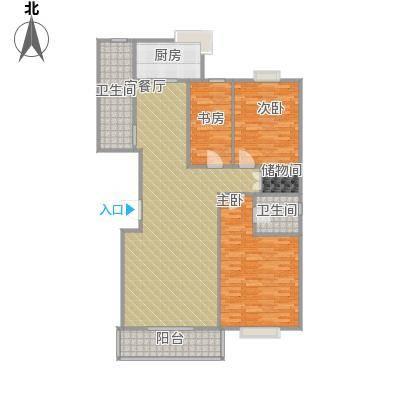 18号楼151方三室两厅