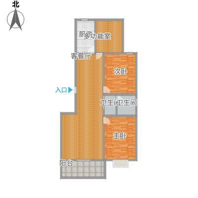 N户型三室两厅