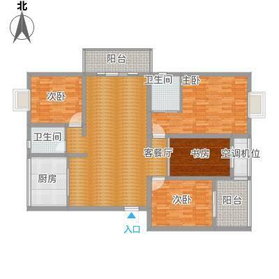 江南名府的户型图