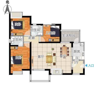 三室两厅99平