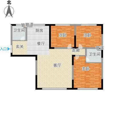 学苑小区户型3室2卫