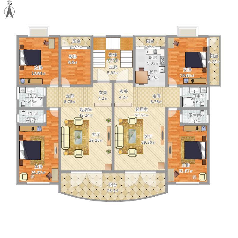 自建房3层平面设计图图片