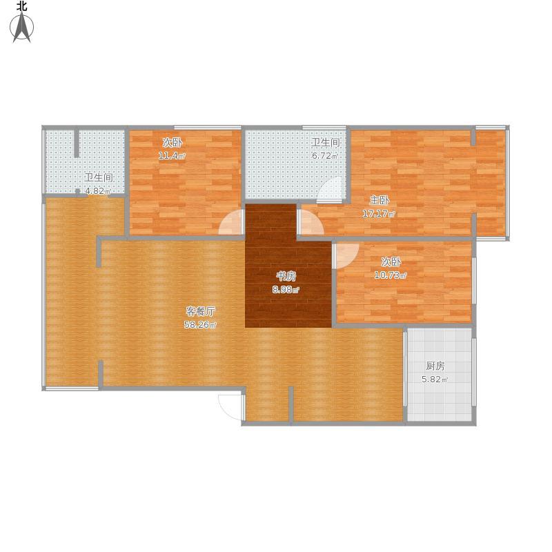 银杏的手绘平面图