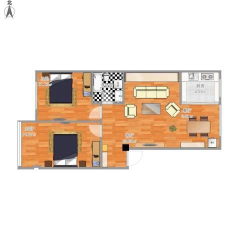 两室一厅90平