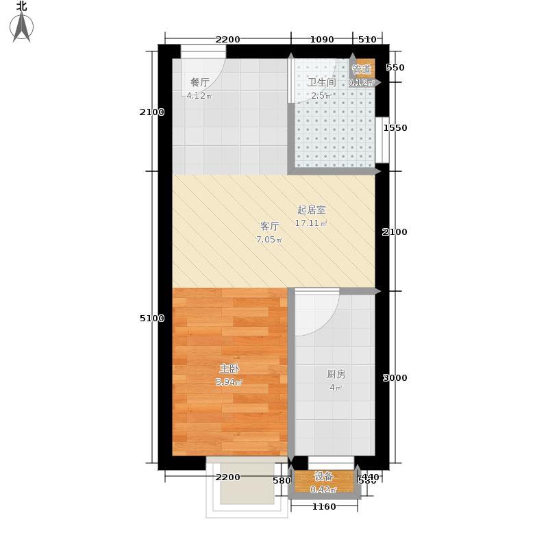 单间住房电路安装图