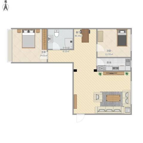 107两室一厅