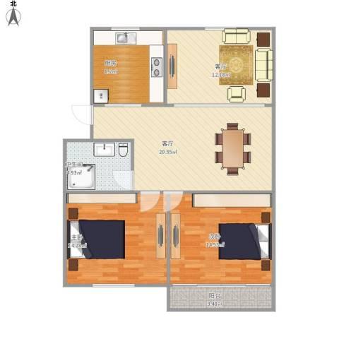 3室一厅一卫一厨