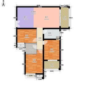 郑州升龙天汇广场119.26㎡升龙天汇在售户型3室2厅