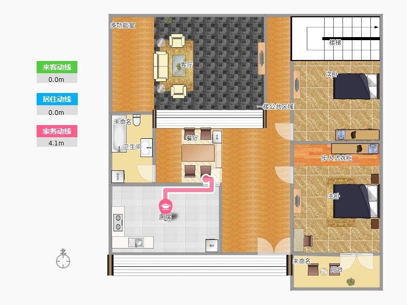 户型设计 楼房一层1   &#58910