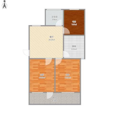 机电宿舍90平三室一厅