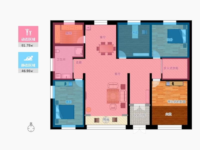 农村自建平房地上一层设计图20150324-001