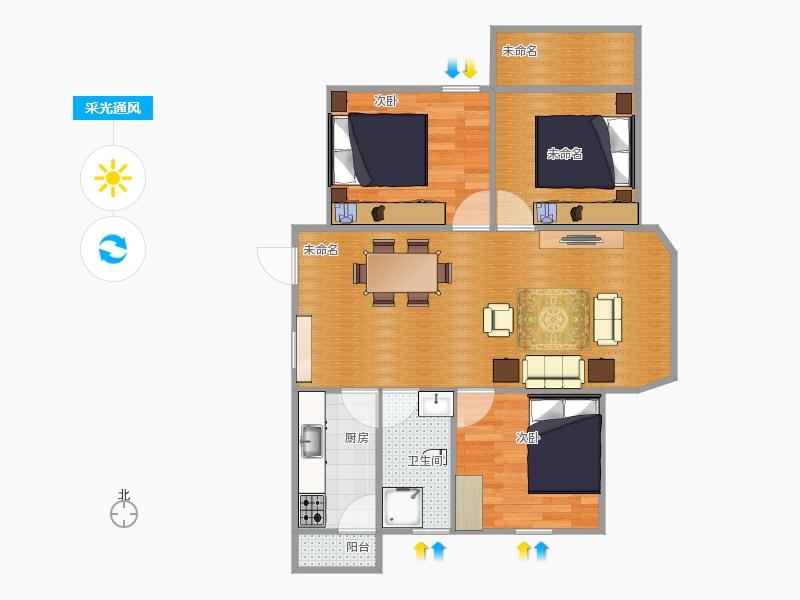 三室二厅户型图大全,装修户型图,户型图分析,户型图