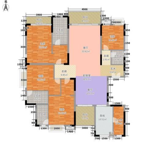 东田翠湖湾二期245.16㎡15/16栋02户型4室2厅-副本