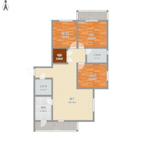 3室2厅2卫1厨房