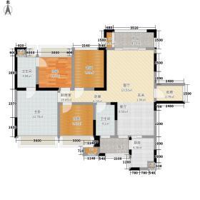 家和院112.09㎡户型3室2厅