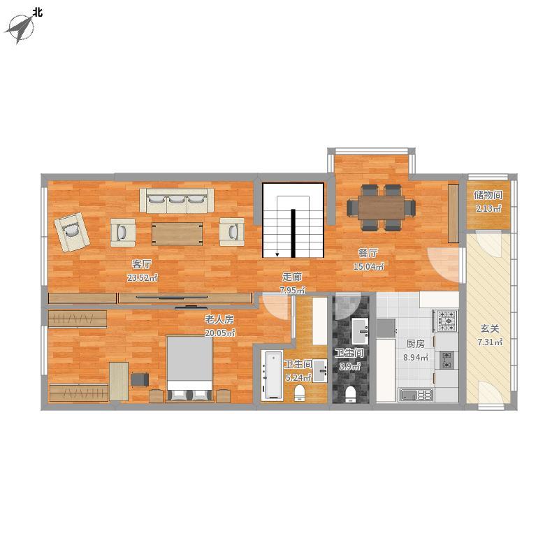 复式大户型1楼装修 - 副本图片