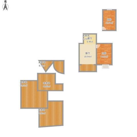 二室一厅80平米
