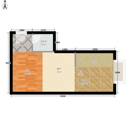 金水大厦40.32㎡F面积4032m户型