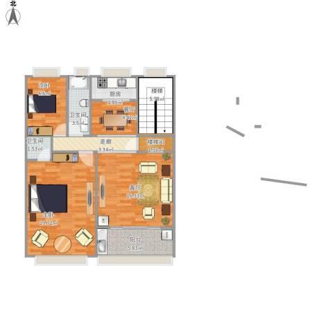 76平方两房两厅