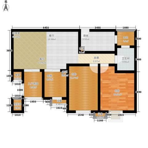 荔城花园86.78㎡1期8栋标准层04面积8678m户型