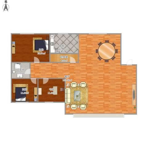 132.57平三室