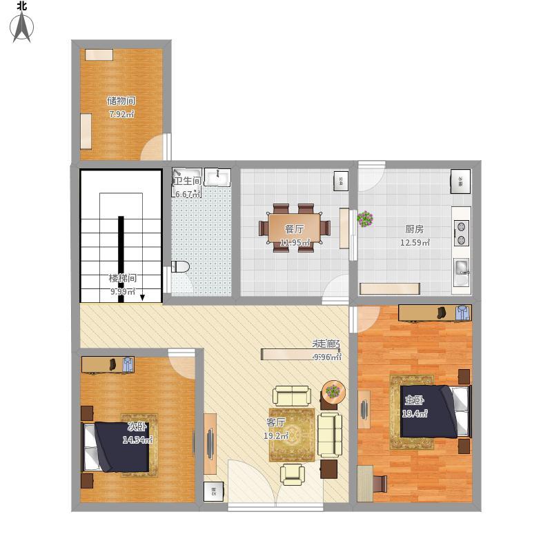 住房结构平面图