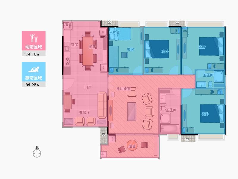 家居布局平面图