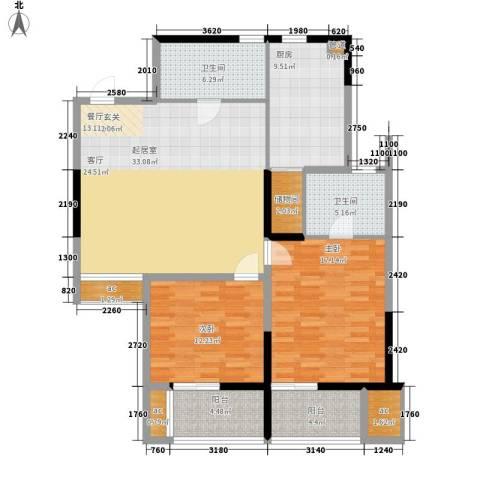LOMO铂客112.00㎡1#楼B2面积11200m户型-副本