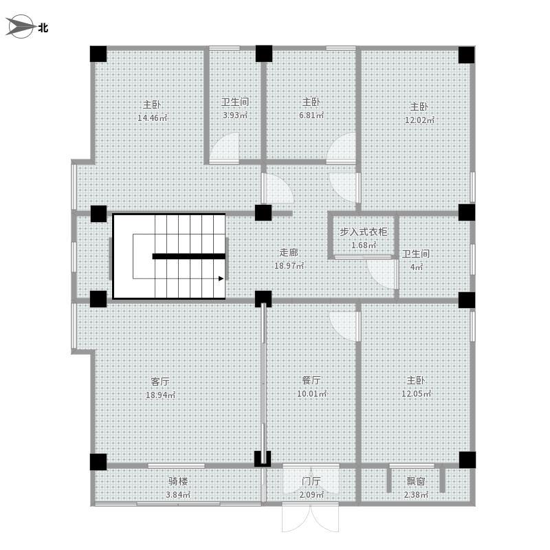 房屋设计草图-1f装修效果图