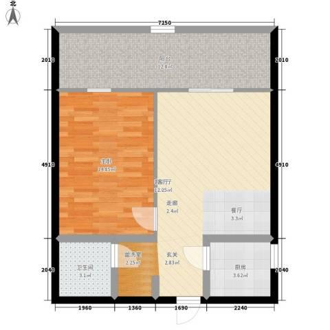 兴威新嘉园平面图3户型