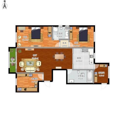 舰艇学院A户型二室一厅-副本-