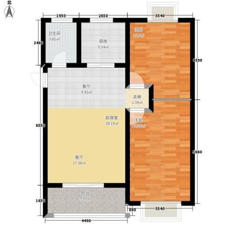 辰龙香树湾83.80㎡辰龙・香树湾3号楼/7号楼户型