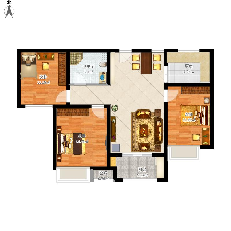青岛-中海国际社区·御城-设计方案户型图大全,装修图