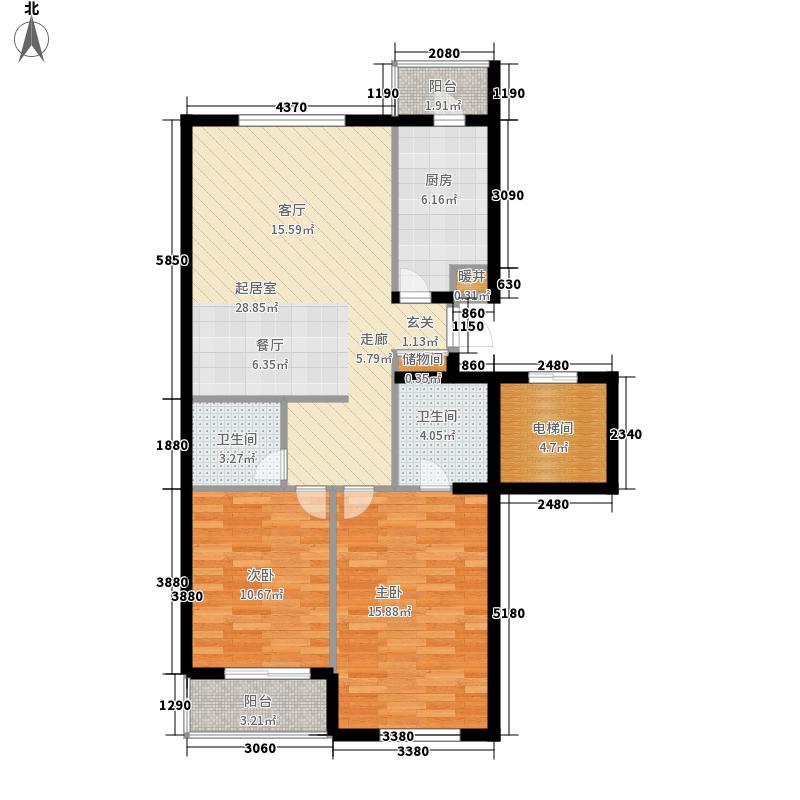 国风宿舍(花冲公园)小区户型图