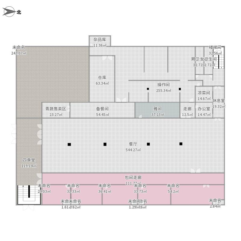园丁餐厅安全消防示意图楼盘风水分析