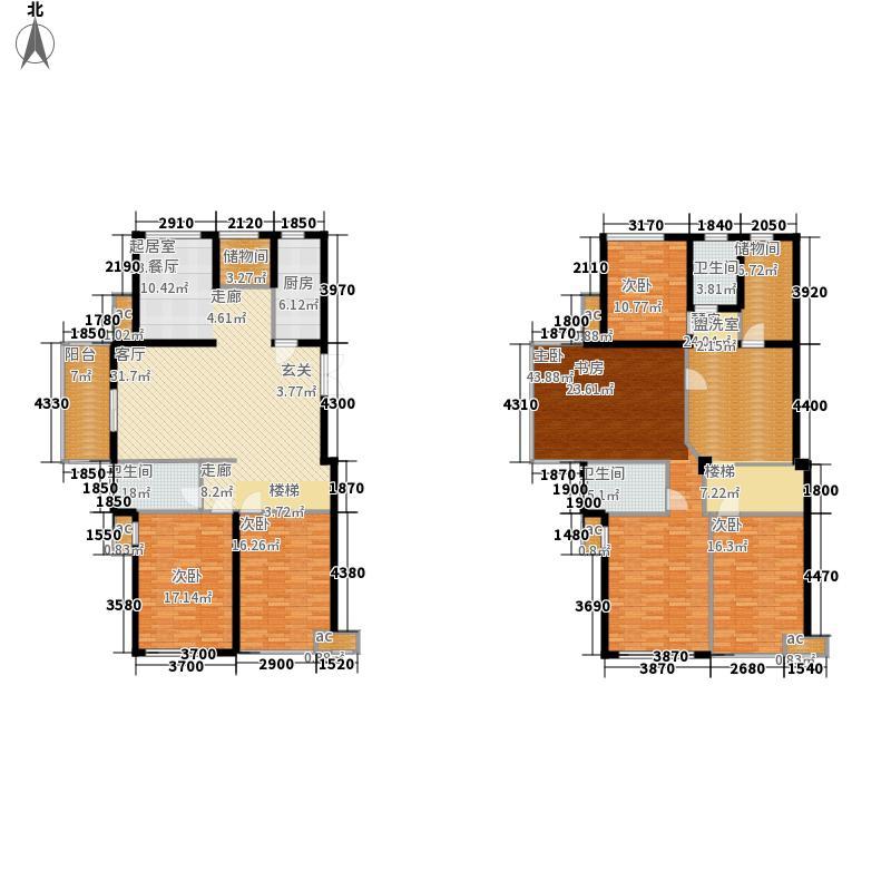00㎡多层电梯洋房109 复式户型图片