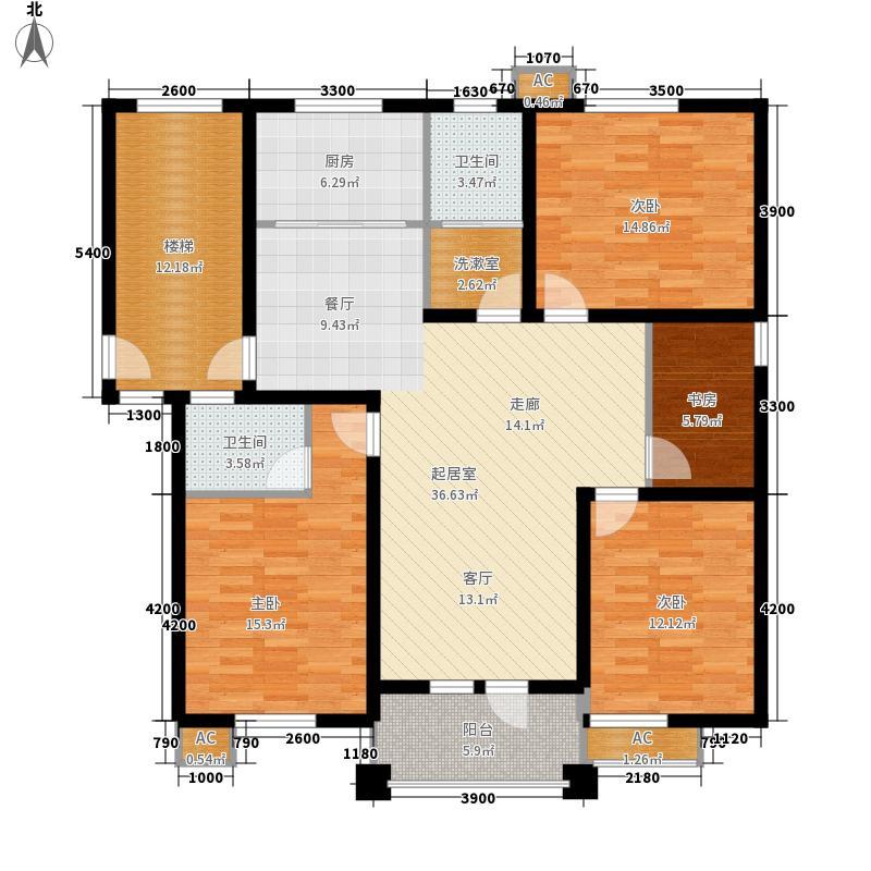 150平米四室两厅户型图