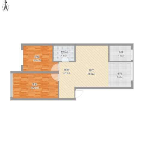 两室一厅90平方