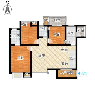 聚隆・城市花园113.93㎡3室2厅2卫