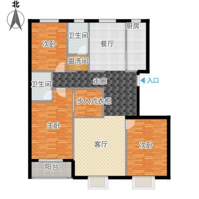 广厦上城广厦上城 户型图户型3室2厅2卫
