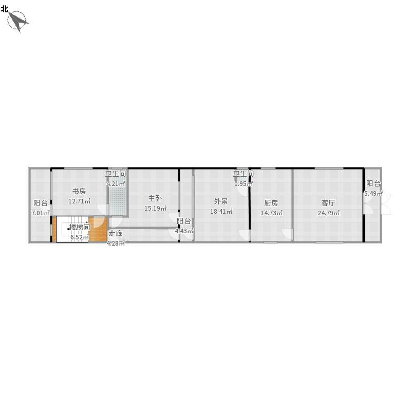 老虎墩建房设计图(一楼)