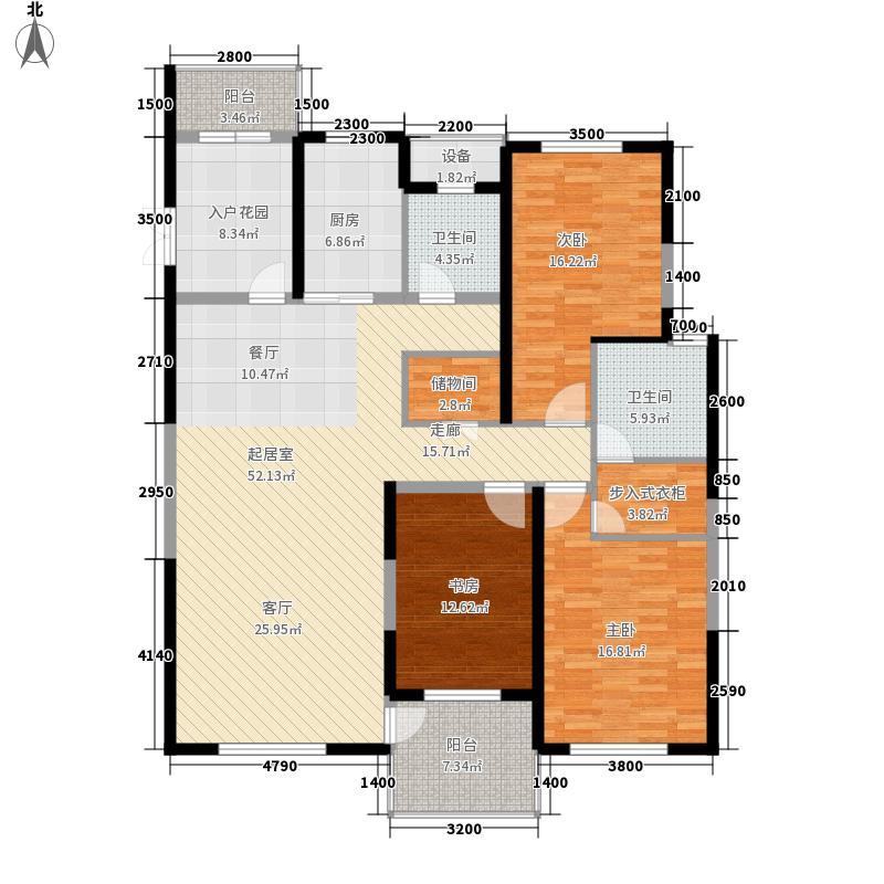00㎡4号楼c2户型  上海 尚海湾豪庭 建筑面积:163平方米 分享