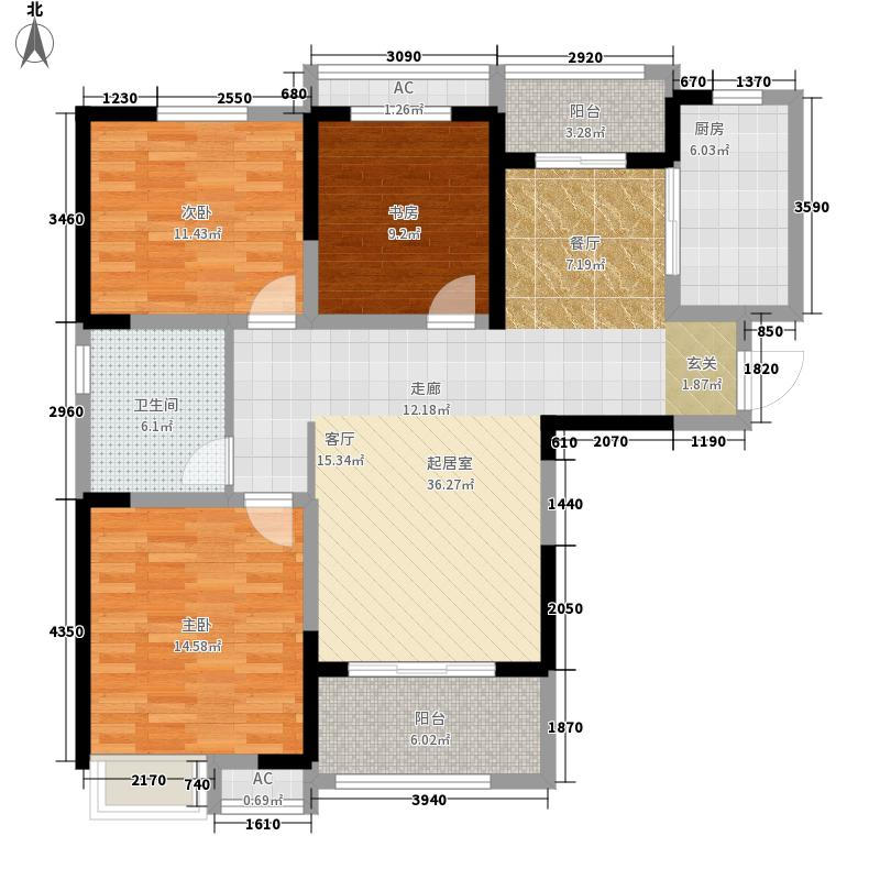 合肥橡树湾户型图大全,装修户型图,户型图分析,户型图