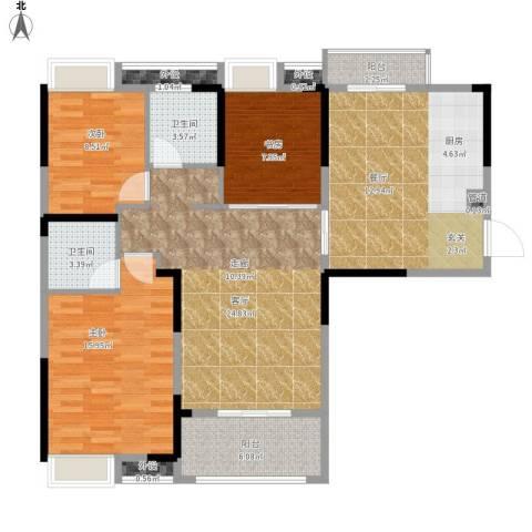 王家湾中央生活区户型图6、7号面积123.00㎡