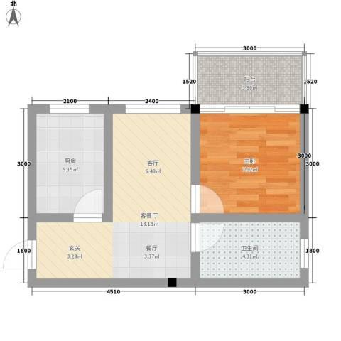 石路中心广场45.00㎡面积4500m户型-副本
