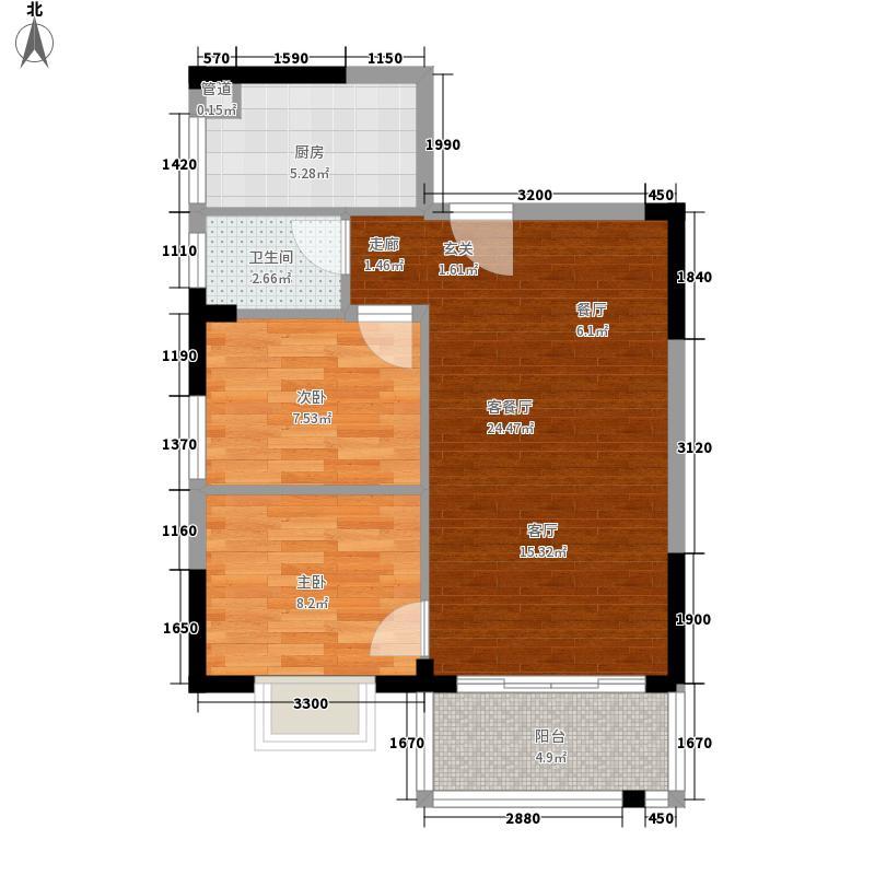 清城-朝南99维港半岛-设计方案户型图大全,装修户型