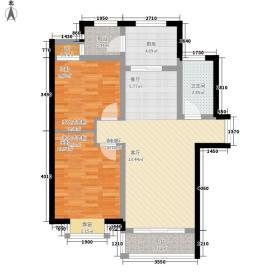 济南鲁能领秀城83.44㎡济南鲁能领秀城户型图UPA2户型(售完)2室2厅1卫户型2室2厅1卫