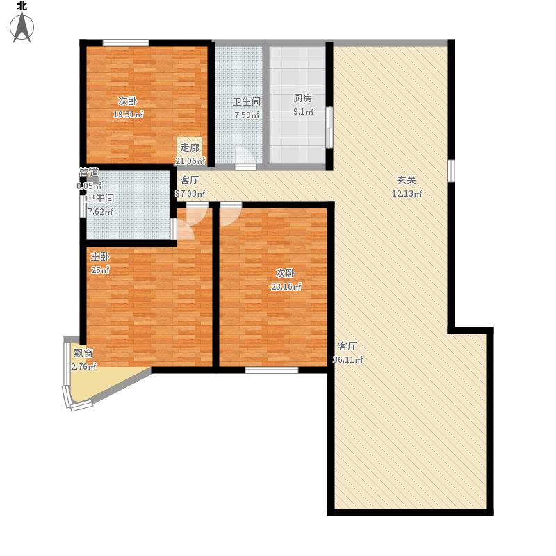 户型设计 崂山-领世华府-设计方案  山东 青岛 领世华府 套内面积:178